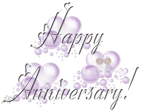 Happy Anniversary to you!