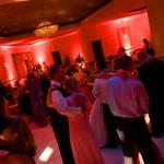 Customized Dance Lighting & Up-lighting  Photo Courtesy of Bill Broere Photography
